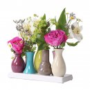 Ceramic vase set flower vase ceramic vase colorful vase...