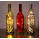 Home&Decorations H&D Original-Glas Laterne Flaschenlicht...